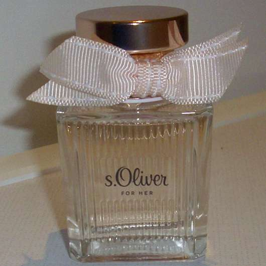 Test Damendüfte s.Oliver For Her Eau De Toilette