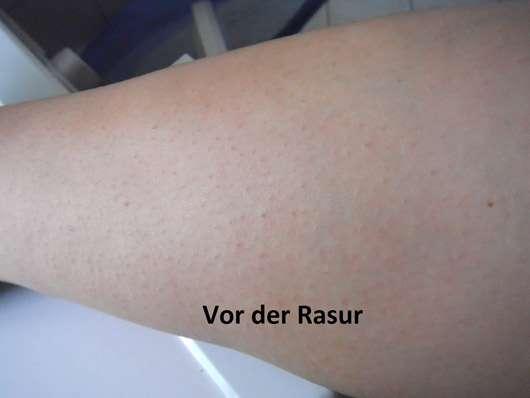 Sannemann Cosmetics Shave and Care Aftershave - Bein vor der Rasur
