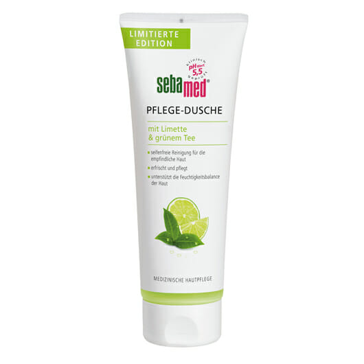 sebamed Pflege-Dusche mit Limette & grünem Tee