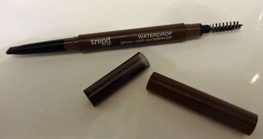 geöffneter trend IT UP Waterdrop Brow Liner Waterproof, Farbe: 010