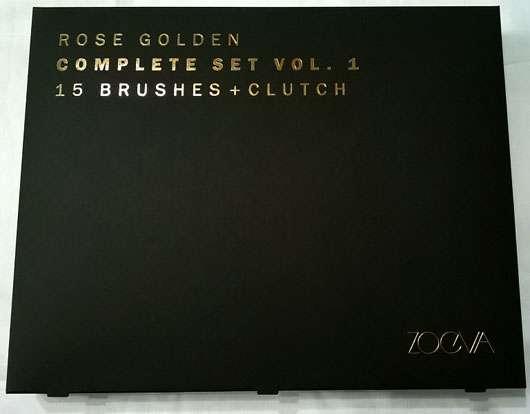 ZOEVA Rose Golden Complete Set Vol. 1 - Verpackung