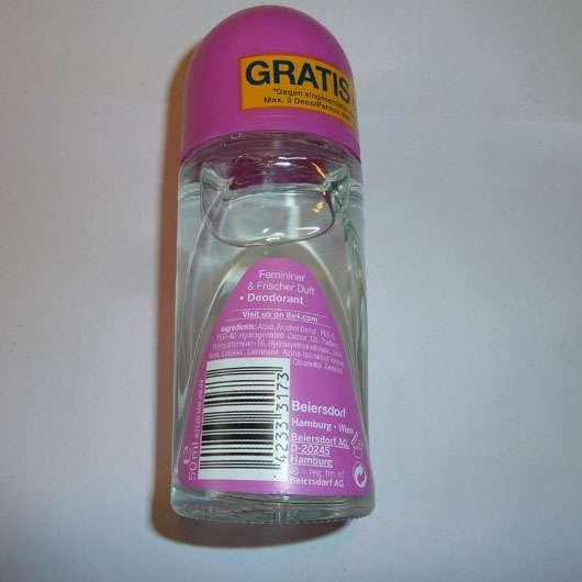 8x4 Pink Fresh Deodorant Roll-On Herstellerangaben