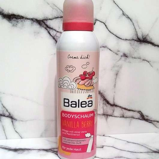 Balea Bodyschaum Vanilla Berry