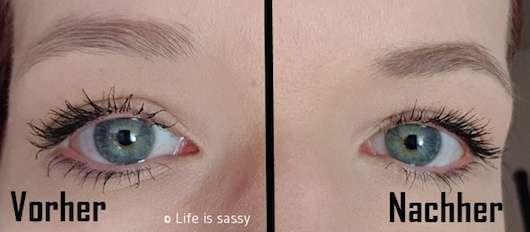 IsaDora Precision Brow Pen, Farbe: 72 Medium Brown (LE) auf den Augenbrauen