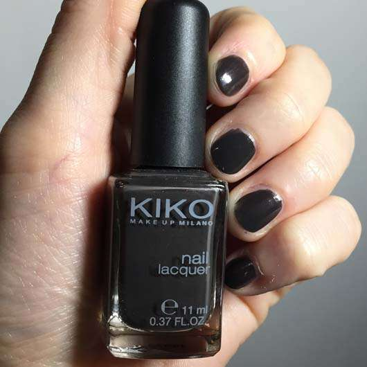 <strong>KIKO</strong> Nail Lacquer - Farbe 515: Metallic Plain Chocolate