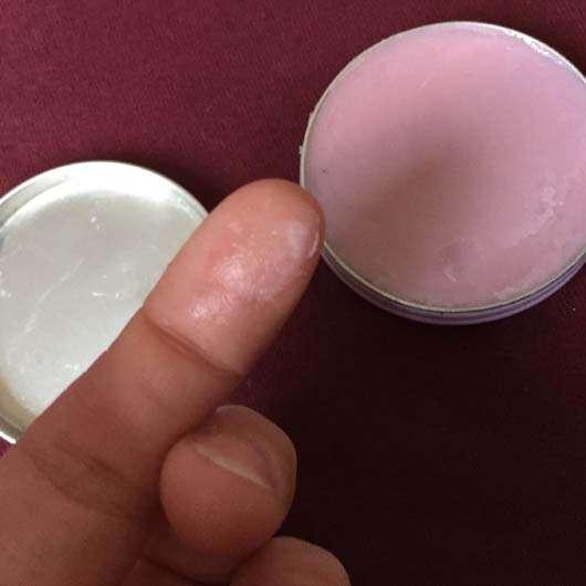 Konsistenz der Labello Lip Butter Blueberry Blush