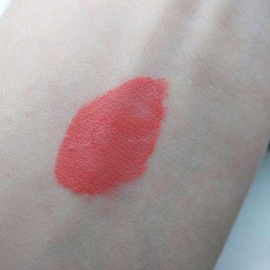 Swatch vom Make Up Factory Mat Lip Fluid Longlasting, Farbe: 65 Soft Raspberry