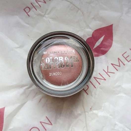 Tiegel vom Maybelline Eyestudio Color Tattoo 24HR Gel-Cream Eyeshadow, Farbe: 65 Pink Gold