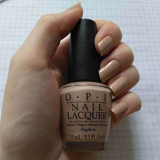 Flasche vom OPI Nail Lacquer, Farbe: Pale To The Chief (LE)