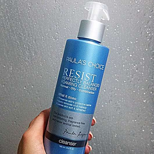 <strong>Paula's Choice</strong> Resist Perfectly Balanced Foaming Cleanser