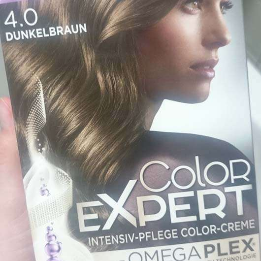Verpackung Schwarzkopf Color Expert Intensiv-Pflege Color-Creme, Farbe: 4.0 Dunkelbraun