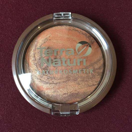 Verpackung vom Terra Naturi Body & Face Shimmer Powder, Farbe: 02 African Dream