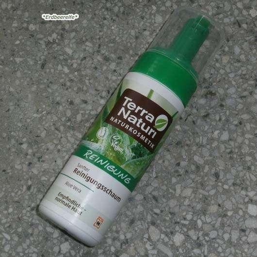 Verpackung des Terra Naturi Naturkosmetik Sanfter Reinigungsschaum