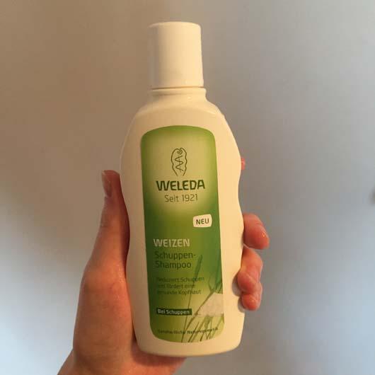 Verpackung vom Weleda Weizen Schuppen-Shampoo