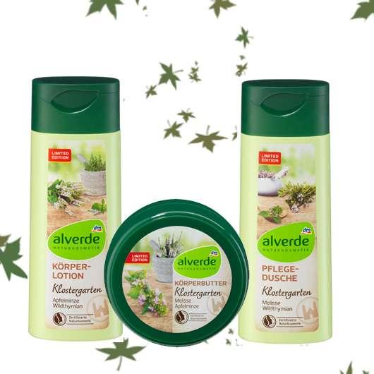 Produkte der alverde Klostergarten LE