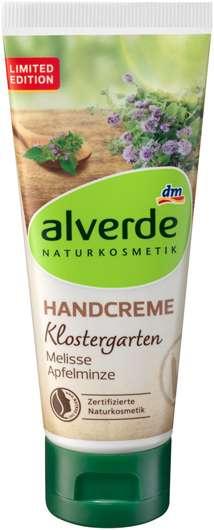 alverde Klostergarten Handcreme