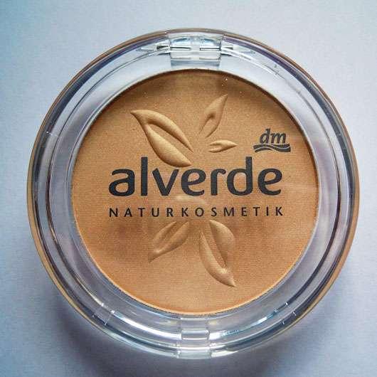alverde Teint Illuminating Powder - geschlossen