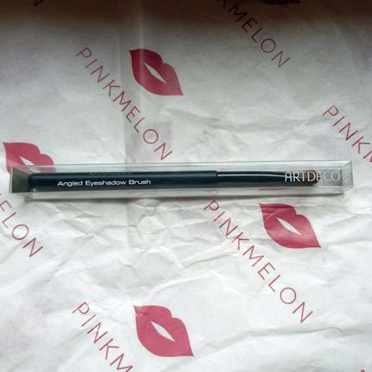 ARTDECO Angled Eyeshadow Brush (LE) - Pinsel in Verpackung