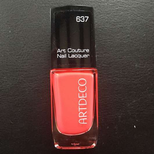 ARTDECO Art Couture Nail Lacquer, Farbe: 637 couture happy pink