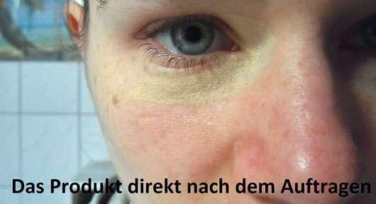 ARTDECO Color Correcting Stick - Swatch unter dem Auge
