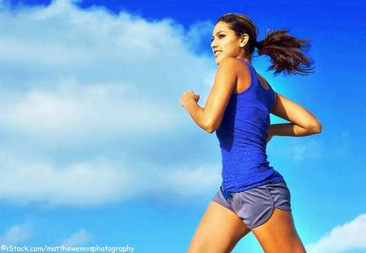 Natürlicher Glow: Jogging statt teures Serum