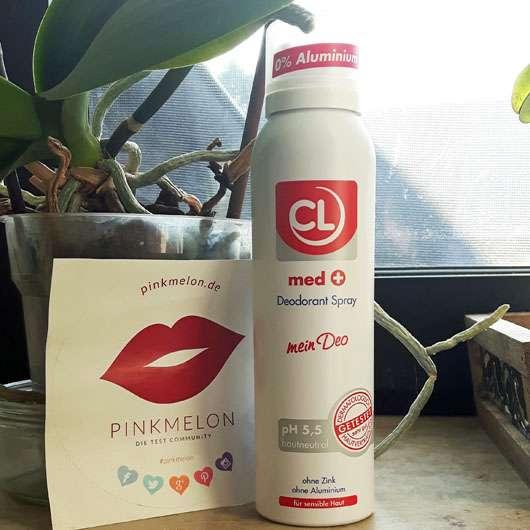 CL med + Deodorant Spray - Dose