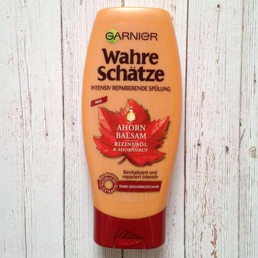<strong>Garnier Wahre Schätze</strong> Ahorn Balsam & Rizinusöl Intensiv Reparierende Spülung