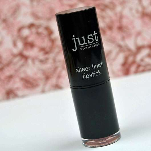 <strong>just cosmetics</strong> sheer finish lipstick - Farbe: 020 interlude