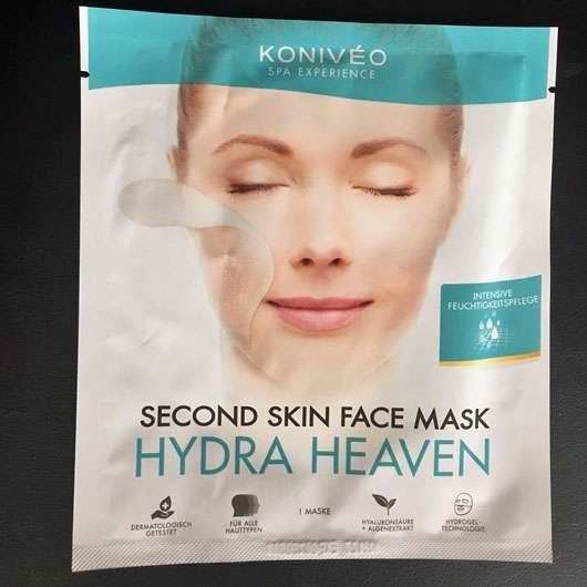 <strong>KONIVÉO</strong> Second Skin Face Mask HYDRA HEAVEN
