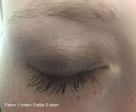LR Deluxe Artistic Quattro Eyeshadow, Farbe: 10 Delighted Nude Tragebild