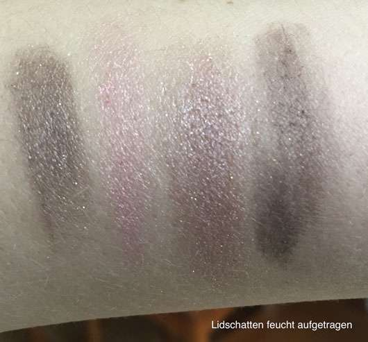 LR Deluxe Artistic Quattro Eyeshadow, Farbe: 10 Delighted Nude Swatches