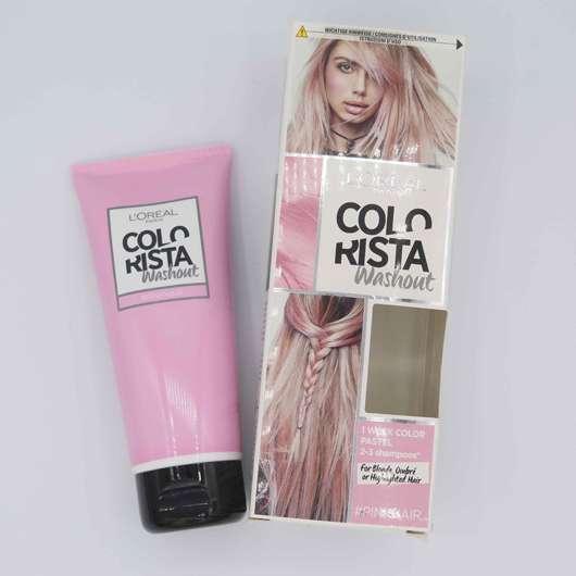 Packung von L'Oréal Colorista
