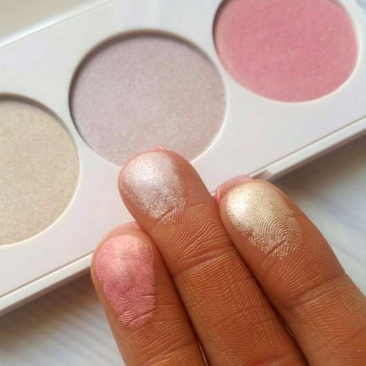 Rival de Loop Young Strobing Palette - Farbabgabe