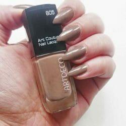 Produktbild zu ARTDECO Art Couture Nail Lacquer – Farbe: 805 toffee