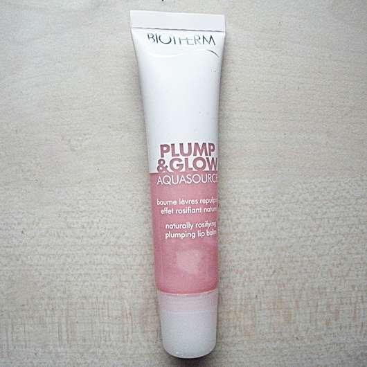 Tube vom  BIOTHERM AQUASOURCE Plump & Glow Lip Balm