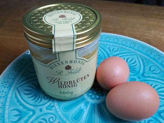 Unreine-Haut-Artikel Honig Eier