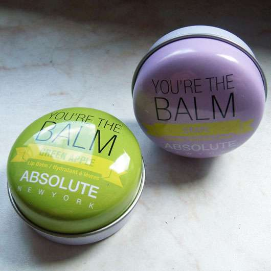 """<strong>ABSOLUTE NEW YORK</strong> Duo Lip Balm """"You're the balm"""" (Green Apple + Grape)"""