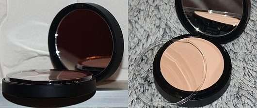 geöffneter Tiegel - bareMinerals BAREPRO Performance Wear Powder Foundation, Farbe: 11 natural