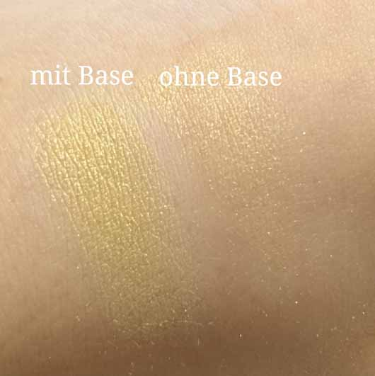 essence live. laugh. celebrate! eyeshadow, Farbe: 07 the sun is shining (LE) Swatches