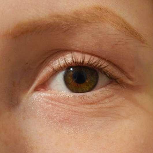 Wimpern nach der Verwendung der for your Beauty Wimpernzange