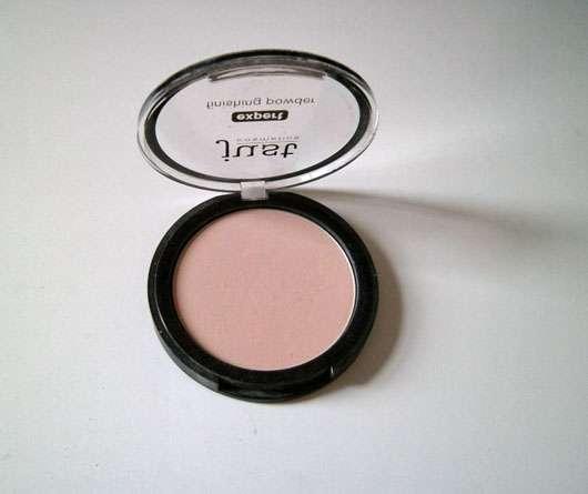 just cosmetics expert finishing powder geöffnet