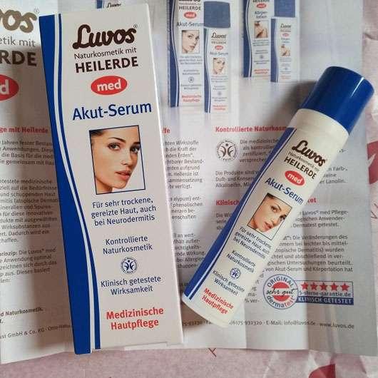 <strong>Luvos</strong> med Heilerde Akut-Serum