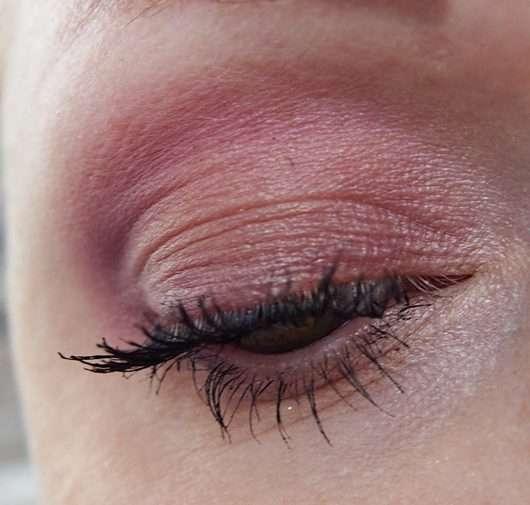 Augen Make-up geschminkt mit Max Factor Masterpiece Nude Palette, Farbe: Orchid Nudes