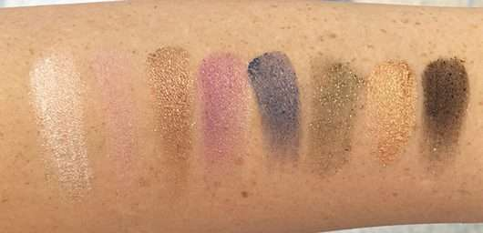 Swatches ohne Base - Max Factor Masterpiece Nude Palette, Farbe: Orchid Nudes