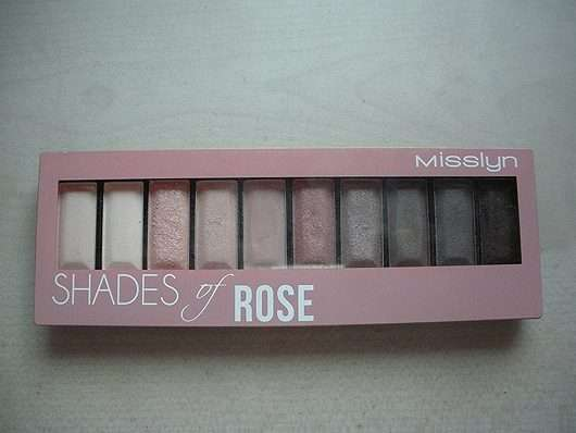 Misslyn Must-Have Eyeshadow Shades, Farbe: 2 Shades Of Rose