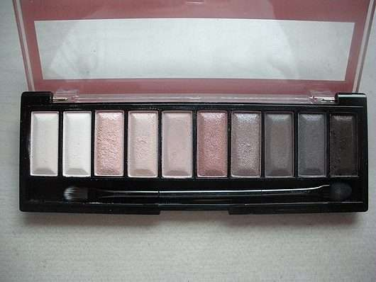 geöffnete Palette - Misslyn Must-Have Eyeshadow Shades, Farbe: 2 Shades Of Rose