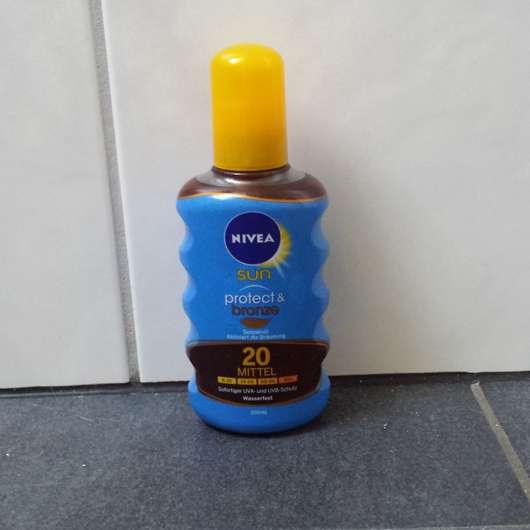 NIVEA SUN Protect & Bronze Sonnenöl-Spray LSF 20
