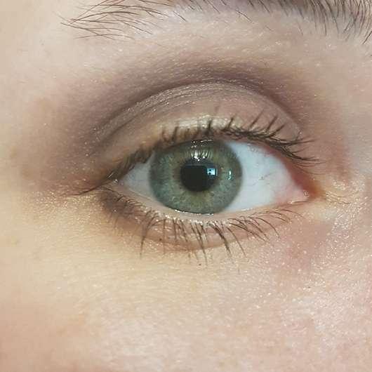 Auge vor der Anwendung des Nivea Wasserfest Augen Make-up Entferners