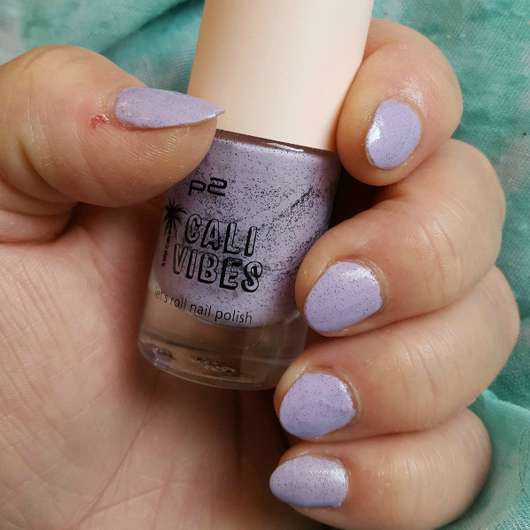 p2 cali vibes let's roll nail polish, Farbe: 030 milky lilac (LE)