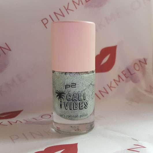 p2 cali vibes let's roll nail polish, Farbe: 020 creamy mint (LE) Design